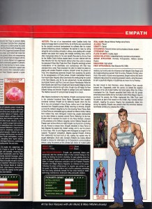 Official Handbook of the Marvel Universe A - Z Update 1 Gus Vazquez Empath