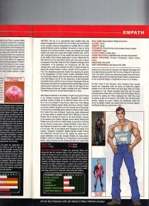 Official Handbook of the Marvel Universe A - Z Update 1 Gus Vazquez Empath