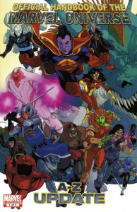 Official Handbook of the Marvel Universe A - Z Update 1