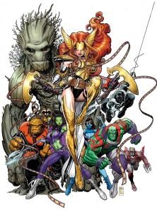 Marvel 2016 July Solicitations Guardians of the Galaxy 10 Art Adams