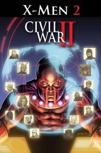 Marvel July 2016 Solicitations Civil War II X-Men 2 David Yardin