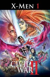 Marvel June 2016 Solicitations Civil War II X-Men 1 of 4 Cover Magik