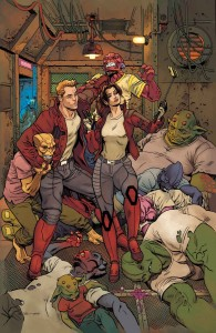 Marvel June 2016 Solicitations Star Lord 8 Mark Hawthorne Kitty Pryde Cover