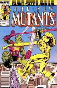 New Mutants Annual 3