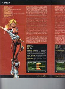 Official Handbook of the Marvel Universe X-Men Age of Apocalypse 2005 Exiles Magik