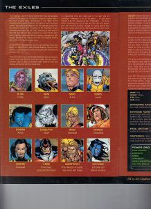 Official Handbook of the Marvel Universe X-Men Age of Apocalypse 2005 Exiles