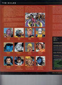 Official Handbook of the Marvel Universe X-Men Age of Apocalypse 2005 Exiles