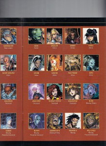 Official Handbook of the Marvel Universe X-Men Age of Apocalypse 2005 X-Men