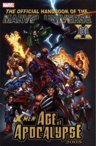 Official Handbook of the Marvel Universe X-Men Age of Apocalypse 2005