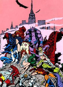 Blockbusters of the Marvel Universe Inferno Marc Silvestri Magik