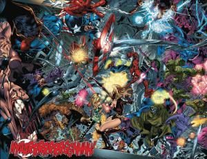 Blockbusters of the Marvel Universe Secret Wars Angel Medina Lockheed