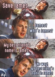 Captain America Civil War Meme James Best Friend
