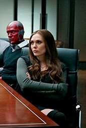 Captain America Civil War Vision Wanda