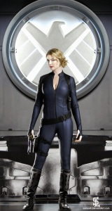 Emily Vancamp Sharon Carter SHIELD uniform