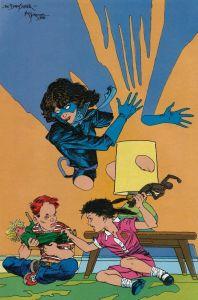 Marvel Fanfare 45 Kitty Pryde Baby Sitter Mike Kaluta Petra Scotese