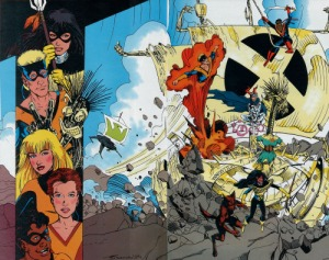 Marvel Fanfare 45 Magik New Mutants Terry Shoemaker Christy Scheele
