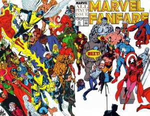 Marvel Fanfare 45
