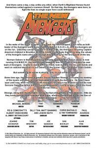 New Avengers 53 Recap Page