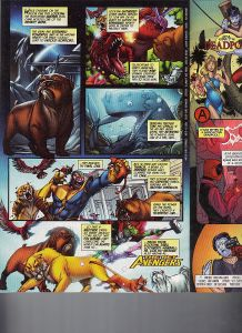 Origins of Marvel Comics Pet Avengers Lockheed Ig Guara