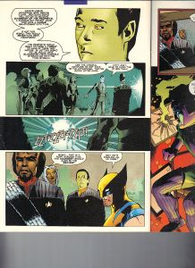 Star Trek Next Generation X-Men Second Contact Shadowcat 11