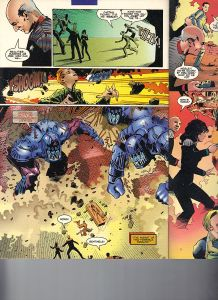 Star Trek Next Generation X-Men Second Contact Shadowcat 13