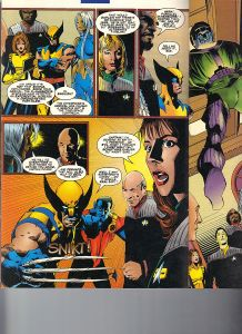 Star Trek Next Generation X-Men Second Contact Shadowcat 4