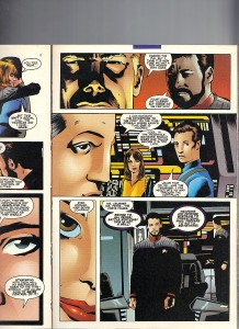 Star Trek Next Generation X-Men Second Contact Shadowcat 9