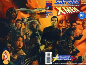 Star Trek Next Generation X-Men Second Contact Variant