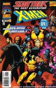 Star Trek Next Generation X-Men Second Contact