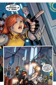 Uncanny X-Men Annual 3 2011 Hope Summers Scott Summers is a Jerk