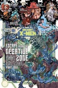Uncanny X-Men Annual 3 2011 Recap Page