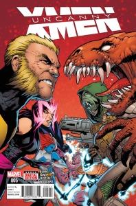 Uncanny X-Men V4 5