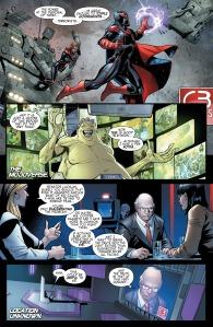 Uncanny X-Men V4 6 Going Public Mojoverse Magik on screen
