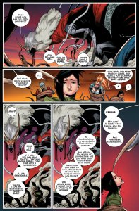 Angela Queen of Hel 7 Magik hinted at