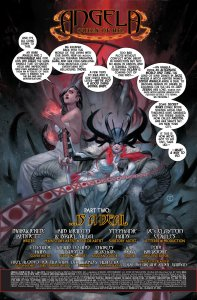 Angela Queen of Hel 7 Recap Page