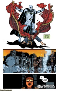 Doctor Strange Last Days of Magic 1 Last Page of Magik