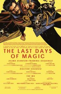 Doctor Strange Last Days of Magic 1 Recap Page
