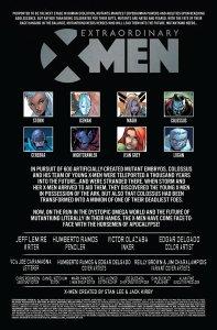 Extraordinary X-Men 10 Recap