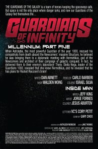 Guardians of Infinity 5 Recap Page