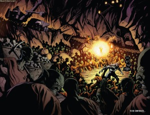 Guardians of the Galaxy V4 8 Final Double Splash Page