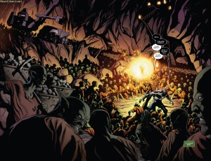 Guardians of the Galaxy V4 8 First Double Splash Page