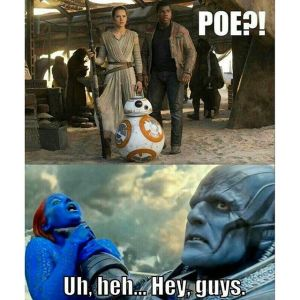 Meme Poe Dameron Apocalypse Oscar Isaac