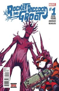 Rocket Raccoon Groot V2 1 2nd Printing
