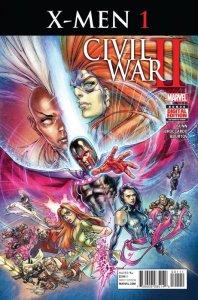Civil War II X-Men 1