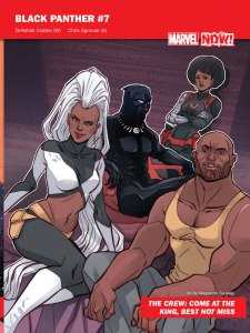 Marvel NOW 2016 Black Panther