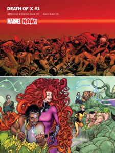 Marvel NOW 2016 Death of X A