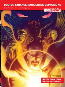 Marvel NOW 2016 Sorcerers Supreme