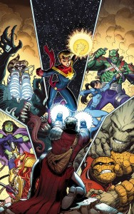 Marvel October 2016 Solicitations Guardians of the Galaxy 13 Art Adams cover